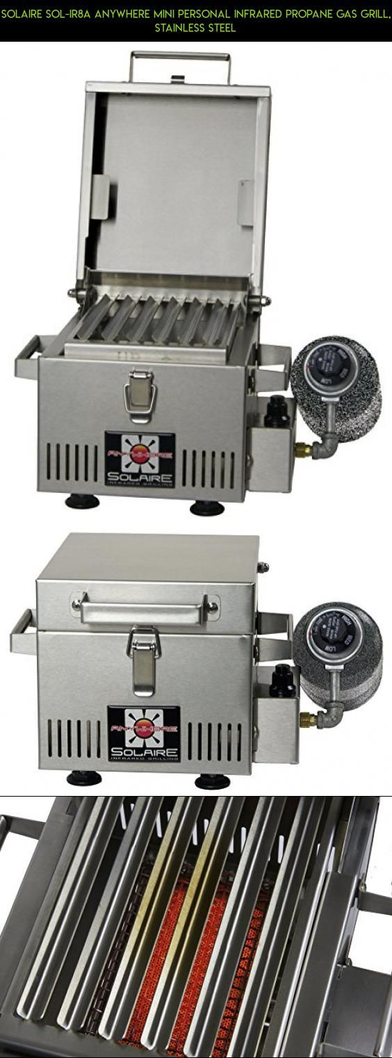 Solaire SOL-IR8A Anywhere Mini Personal Infrared Propane Gas Grill, Stainless Steel #kit #products #plans #tech #infrared #shopping #racing #gadgets #fpv #technology #grills #parts #camera #drone