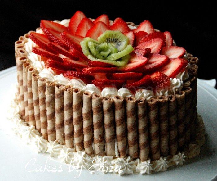 17 Best ideas about Fruit Cake Decorating on Pinterest ...