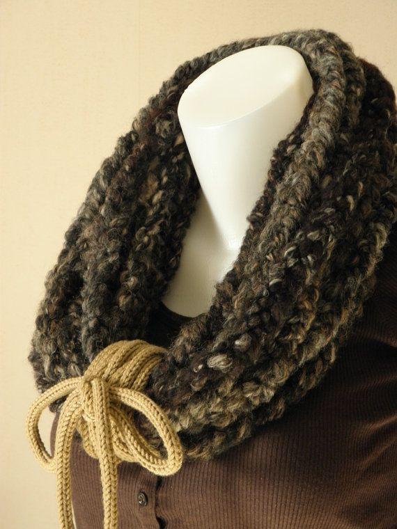 Collier snood en laine By Bahia Del Sol par ByBahiaDelSol sur Etsy, €58.00