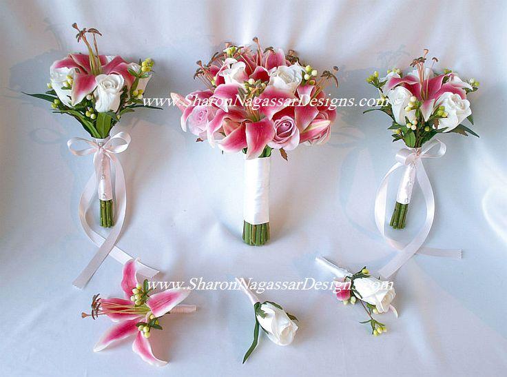 sharon nagassar designs silk, latex, real touch, custom wedding flowers - Order status