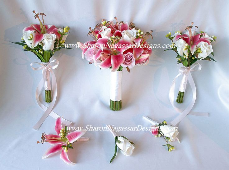 sharon nagassar designs silk, latex, real touch, custom wedding flowers - Order status