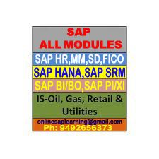 SAP IS utilities online training by real time experts. Our Online Trainings are on following technologies. SAP (All Modules) 1. Sap - (SD,FICO, HR, MM,) 2. Sap - BPC (Microsoft and Net viewer) 3. Sap -Webdynpro ABAP / JAVA 4. Sap -IS RETAIL 5. Sap - FSCM 6. Sap –SCM 7. Sap –SRM 8. Sap- PP 9. Sap - QM 10. Sap – PM 11. Sap – BASIS 12. Sap -SOLUTION MANAGER & BPM (Business Process Monitoring).