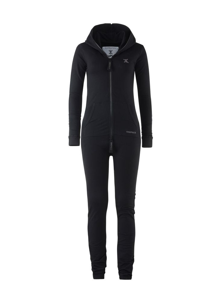 Sieh dir hier den Original Slim Onesie Schwarz an. Qualitativer Jumpsuit aus Baumwolle.