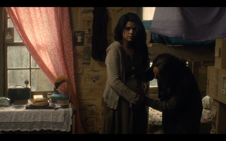 """Selena Gomez as struggling mother Lisa London in """"In Dubious Battle"""", the 2017 drama film"""