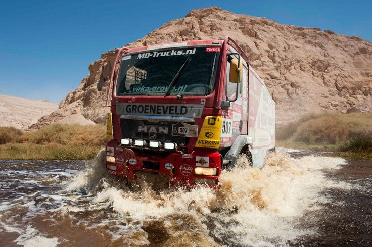 Beasts on Wheels, a MAN competing in the Dakar Rally