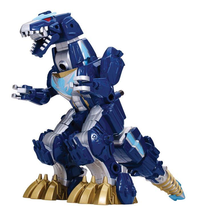 Amazon.com: Power Rangers Super Megaforce - Q Rex Megazord: Toys & Games