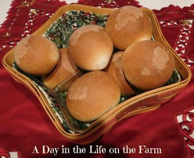 A Day in the Life on the Farm: Sweet Milk Dinner Rolls #BreadBakers