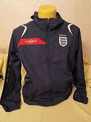 England #football shirt #jacket umbro #hooded l training,  View more on the LINK: 	http://www.zeppy.io/product/gb/2/182398039509/