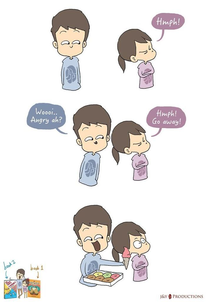 Pin by Abby on OHMAWORDSOCUTE | Cute couple comics, Couples