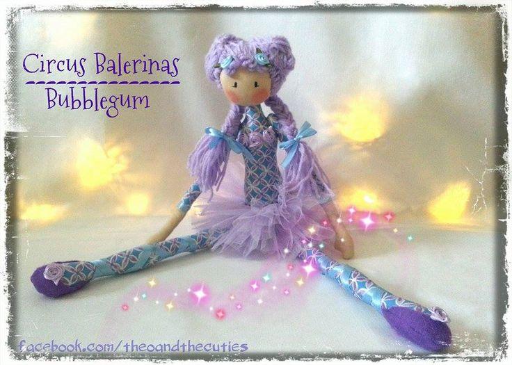Theo and the Cuties - Circus Balerinas - Bubblegum facebook.com/theoandthecuties
