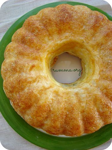 Cake-shaped cheese pie recipe - rumma - rumma
