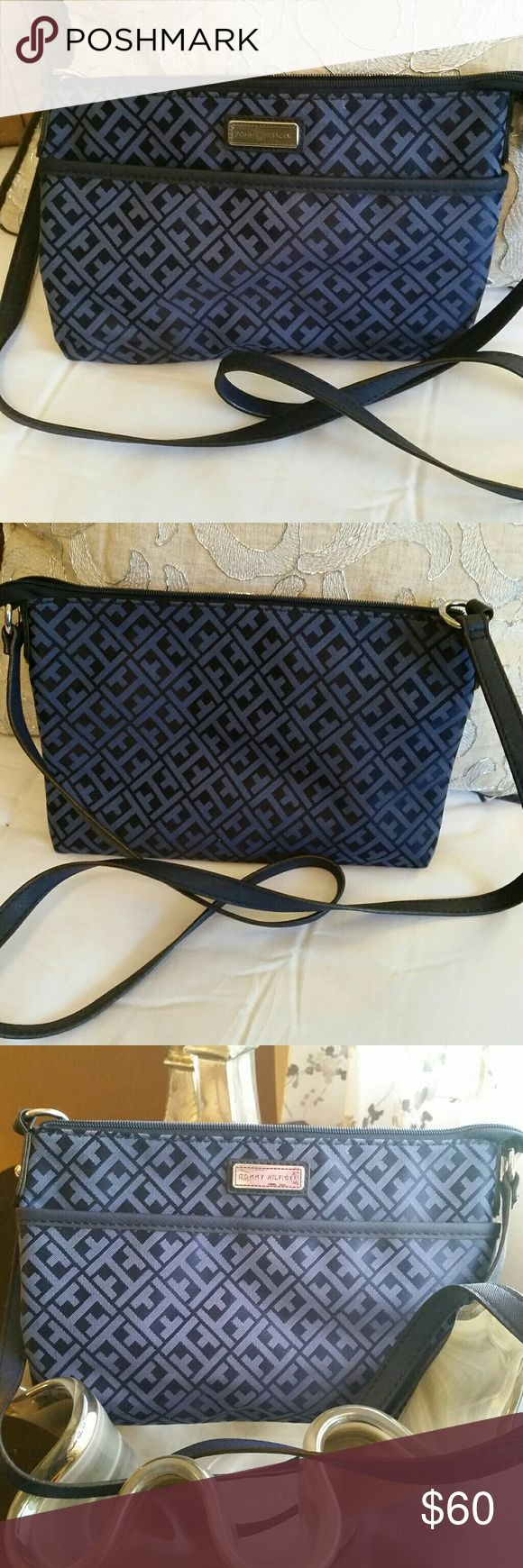 🆕NWOT Tommy Hilfiger Crossbody🆕 🆕NWOT Tommy Hilfiger blue cross body bag. One pocket on the front of the bag, one zippered pocket inside and one open pocket inside. Beautiful bag perfect for summer fun! 🌞🆕 Tommy Hilfiger Bags Crossbody Bags
