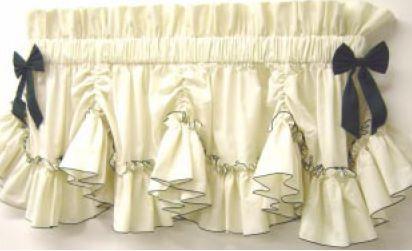 Carolina Maxi Ruffle by Prestige Country Ruffled Curtains Marthas