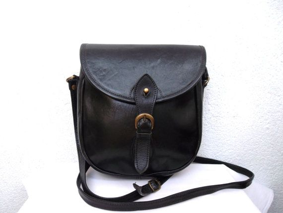 25  best Black Leather Messenger Bag ideas on Pinterest | Brown ...