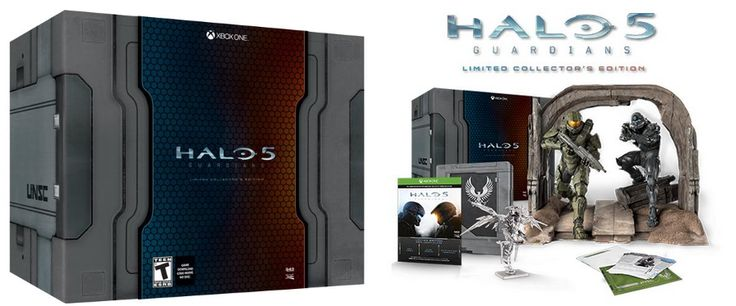 Halo 5: Guardians Limited Collectors Edition for Xbox One $56 (Was $250) **SUPER HOT** - http://www.swaggrabber.com/?p=320934