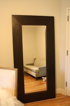 Ikea Mongstad Floor Mirror Another Way To Hang It