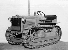 A Fiat model 40 Boghetto tractor