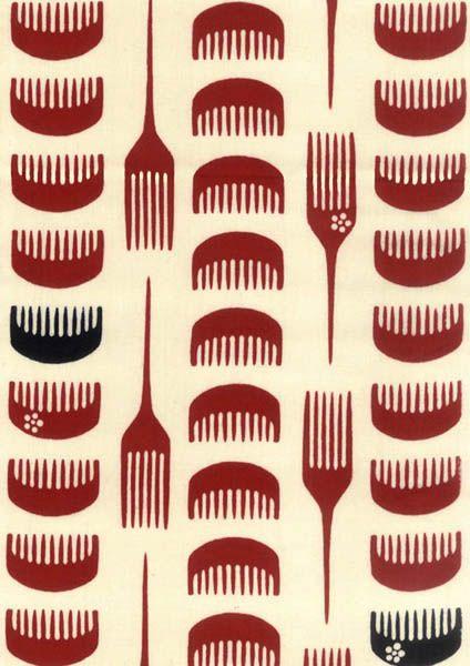 (戸田屋の手ぬぐい) 昭和レトロ×モダン 櫛(くし) - ||| てぬぐい 和柄シャツ 和風小物 着物のお店 ~横浜わかやぎ |||