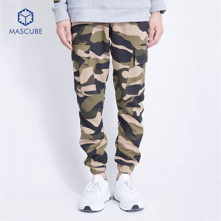 ==> [Free Shipping] Buy Best [MASCUBE]Mens Camouflage Jogger Pants Men Casual Hip Hop Harem Pantalones Military Cargo Trousers Tactical Pants military army Online with LOWEST Price | 32604651764