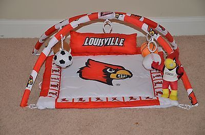 Louisville Cardinal Baby Activity Gym