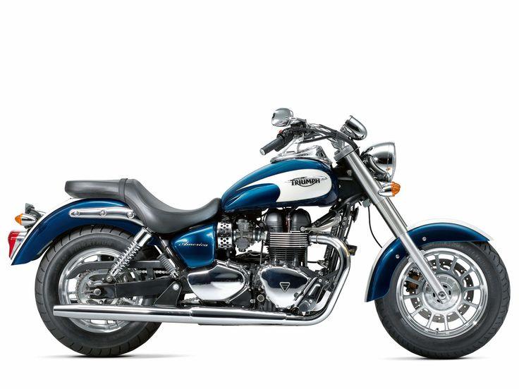 2012 Triumph America Motorbike