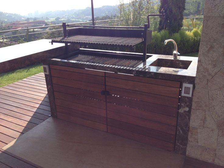 17 mejores ideas sobre patio con chimenea exterior en - Parrillas de barbacoa ...