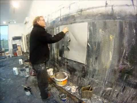 Ørnulf Opdahl painting time lapse - YouTube