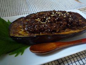 肉みそでどうぞ!米なすステーキ by あやぱんせんせい [クックパッド] 簡単おいしいみんなのレシピが271万品