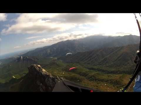 Paragliding over the #Misiryeong Ridge Mountains, #Gangwon Province, Korea. (Part 5) | 미시령 패러글라이딩