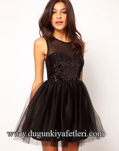 Siyah Düğün Kıyafeti Modelleri asos-pullu-parti-kıyafeti – Düğün Kıyafetleri Moda Rehberi