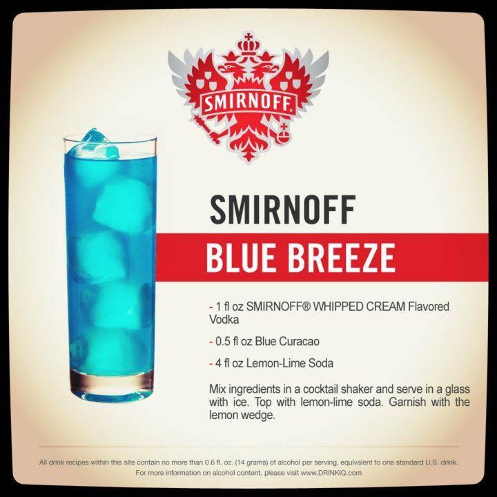 I love blue drinks :-)
