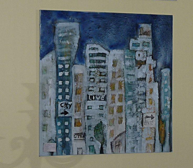 32 besten Bild Kunst Acryl auf Leinwand Silberstreif Bilder auf - wohnzimmer bilder abstrakt