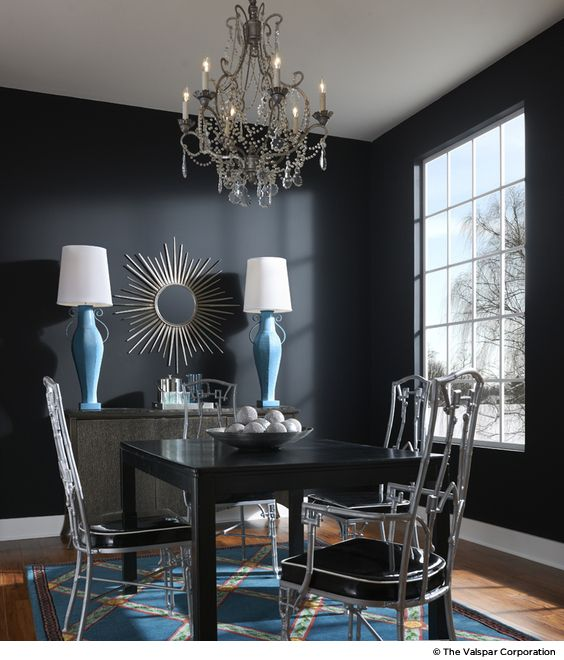 7 Lessons For Decorating With Dark And Dramatic Paint