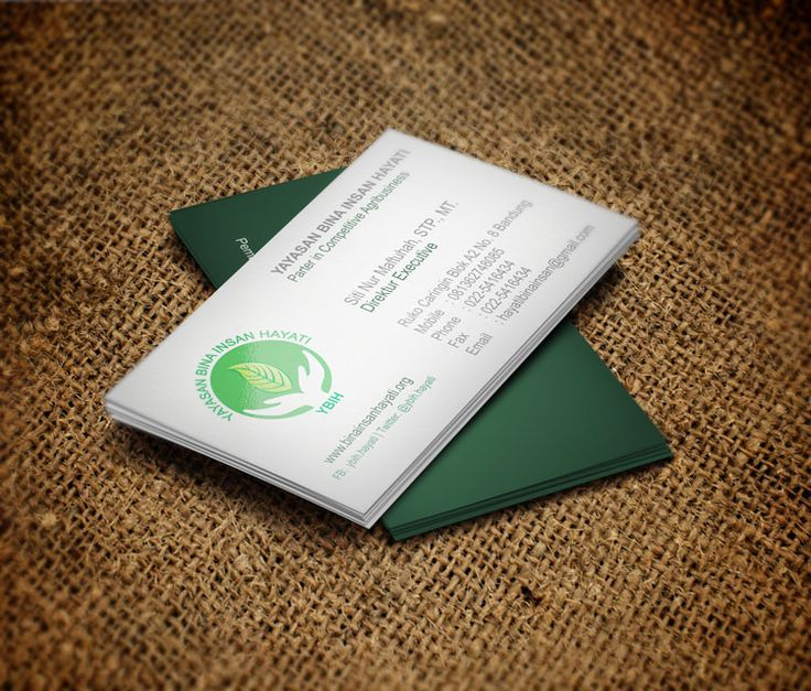 9 best business card images on pinterest carte de visite business yayasan bina insan hayati a sosial and environment foundation designed at 2013 business reheart Gallery