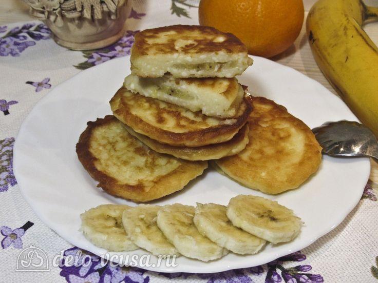 Банановые сырники #сырники #бананы #рецепты #деловкуса #готовимсделовкуса