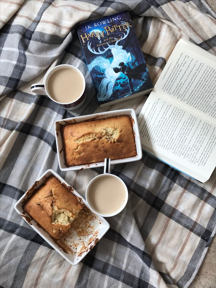 My Banana And Cinnamon Bread....Better With A Harry Potter Book