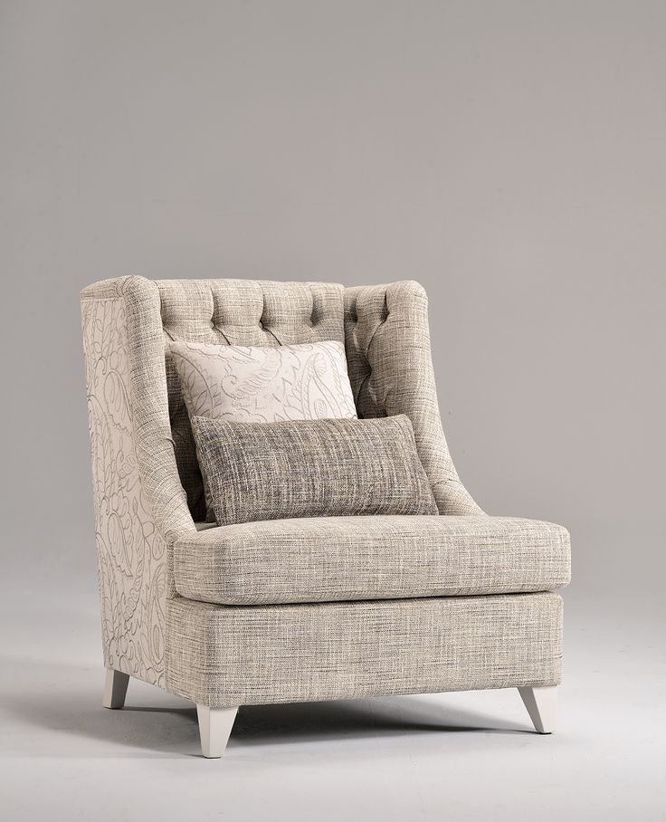 Ginestra armchair from new VenetaSedie Shabby Chic collection. Beautiful piece of furnish, with top quality design fabrics and cool details.