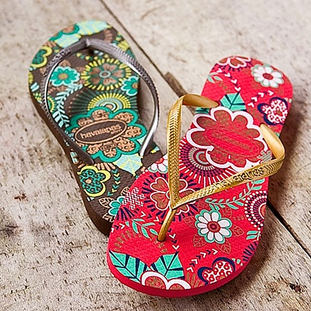 Havaianas Flip Flops. Smells like summer spirit!