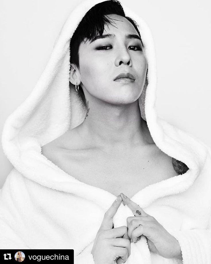 Thank y'all #Repost @voguechina #HBD to the Asian #KPOP\#Fashion icon #GDragon . Photographed on the set of #VogueMe August's cover shooting, by #MarioTestino for #TowelSeries. @vogueme @mariotestino @xxxibgdrgn  #HappyBirthday 他是KPOP巨星,时尚偶像,舞台上的#RapMonster,舞台下的腼腆大男孩。他是#权志龙,祝我们的#狮子座#男神#生日快乐。图片来自Mario Testino的Towel Series,与《Vogue Me》八月刊封面一同拍摄。#GD#GDBDAY