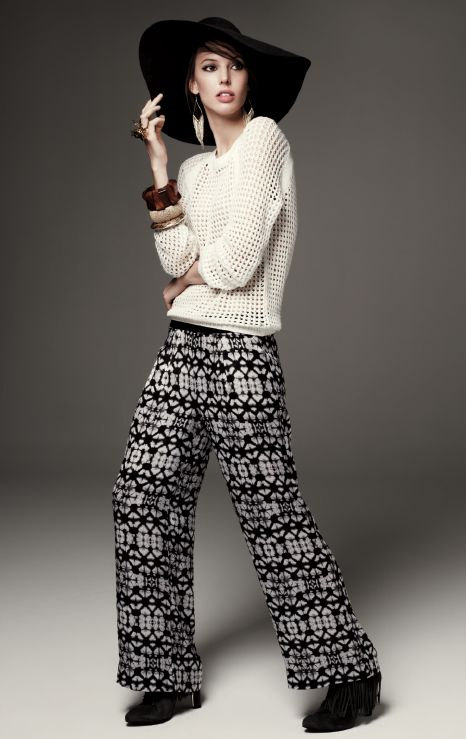 Your Spring look is effortlessly chic in soft pants by ...