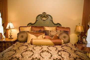 Custom gold. coral and brown bedding decorative custom throw pillows traditional bed pillows and pillowcases