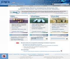 PIR (Protein Information Resource) es un portal con un conjunto de recursos que nos ayudan a la identificación e interpretación de las secuencias de las proteínas.