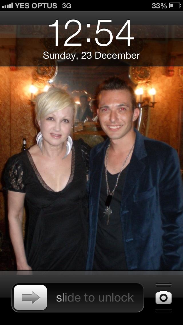 The Best....Cyndi Lauper and Myself.