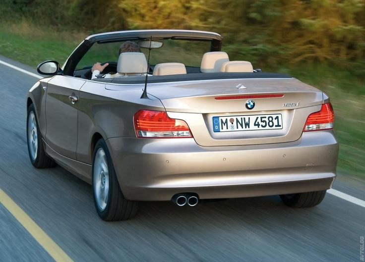 2008 BMW 1 Series Cabrio