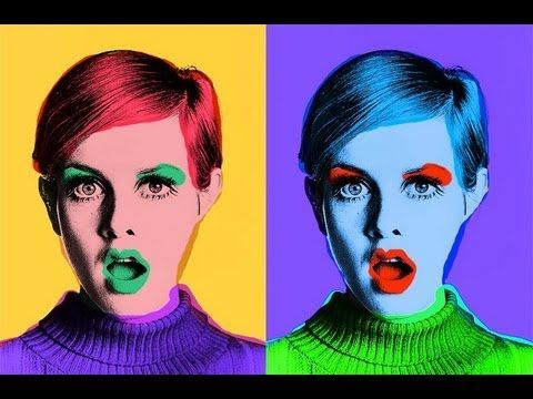 Crear Retrato POP ART inspirado en ANDY WARHOL - YouTube
