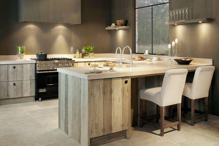 keuken in ton sur ton kleuren