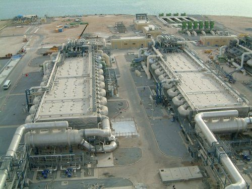 Seawater desalination plant in South Korea. Photo credit to roplant.