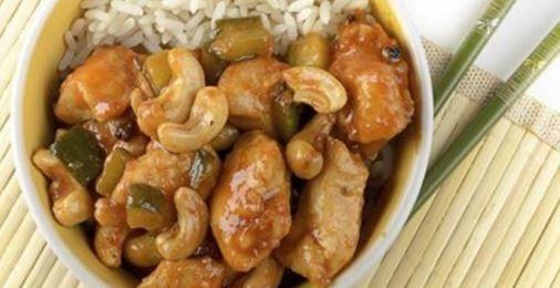 La recette d'un délicieux poulet sauté aux noix de cajou