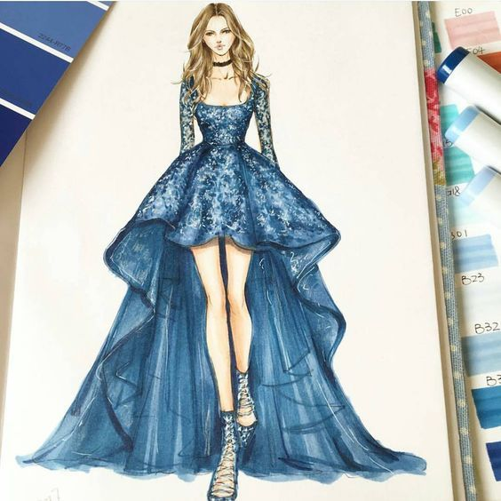 Best 25+ Fashion illustration dresses ideas on Pinterest | Fashion ...