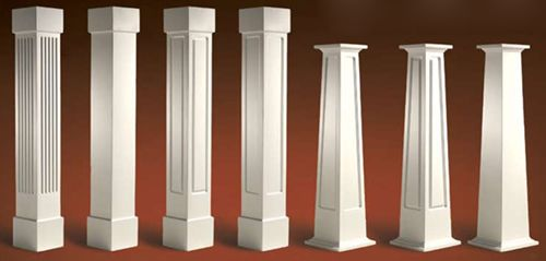 Porch posts google image result for http www Craftsman columns